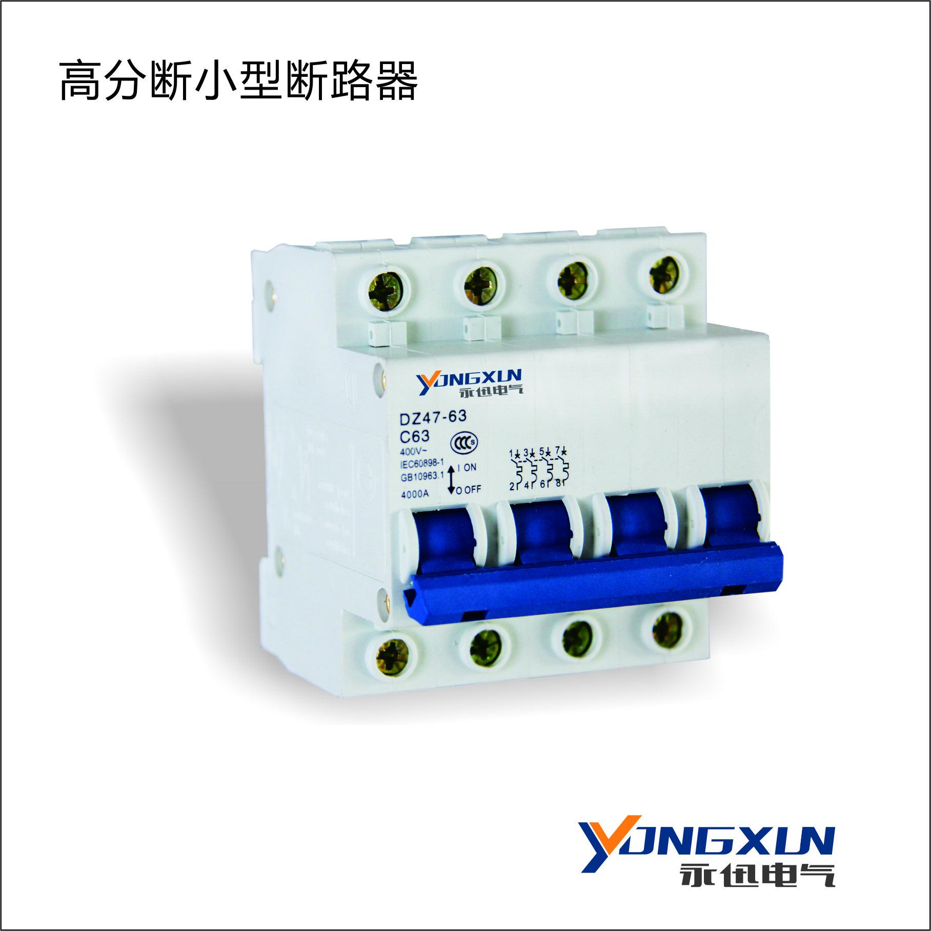 YXDZ47-63A/1P 小型断路器